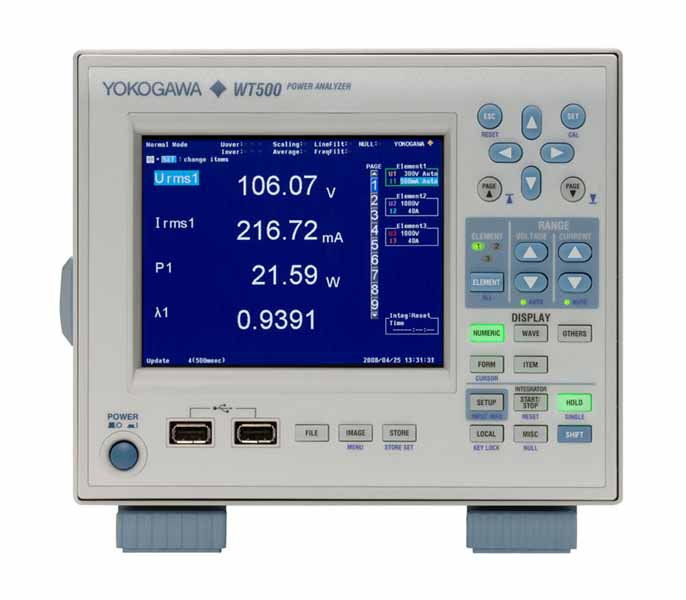 Yokogawa, Hioki, Tektronix, Power analyzer, Powermeter