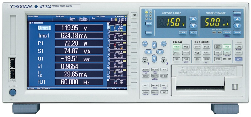 YOKOGAWA POWER ANALYZER, POWERMETER, POWERSCOPE, HIOKI, TEKTRONIX