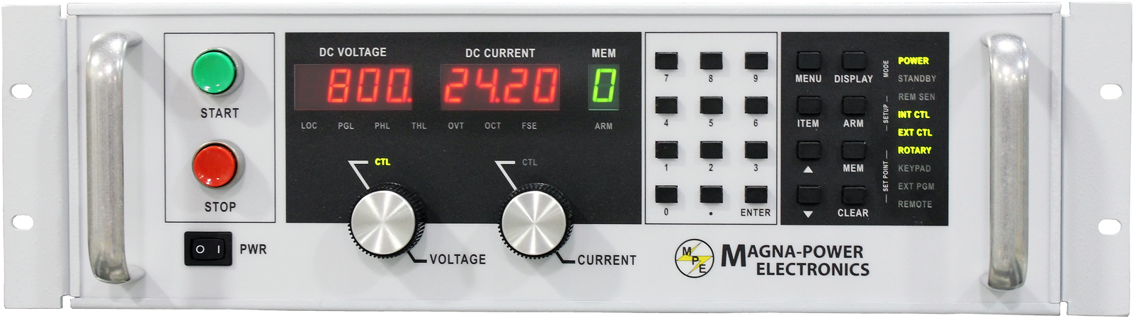 Magna Power, DC Power Supply,