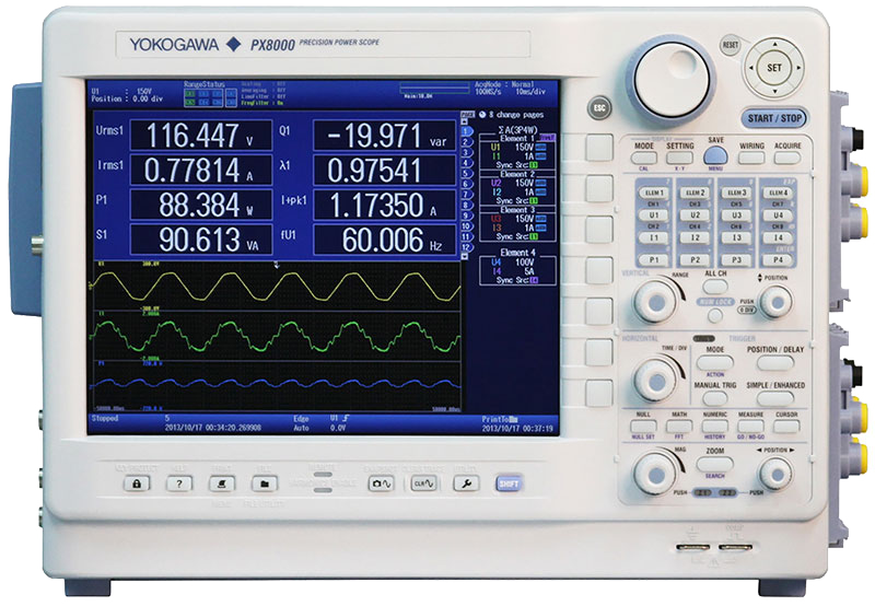 YOKOGAWA, HIOKI, POWERMETER, POWERSCOPE, POWER ANALYSER, TEKTRONIX