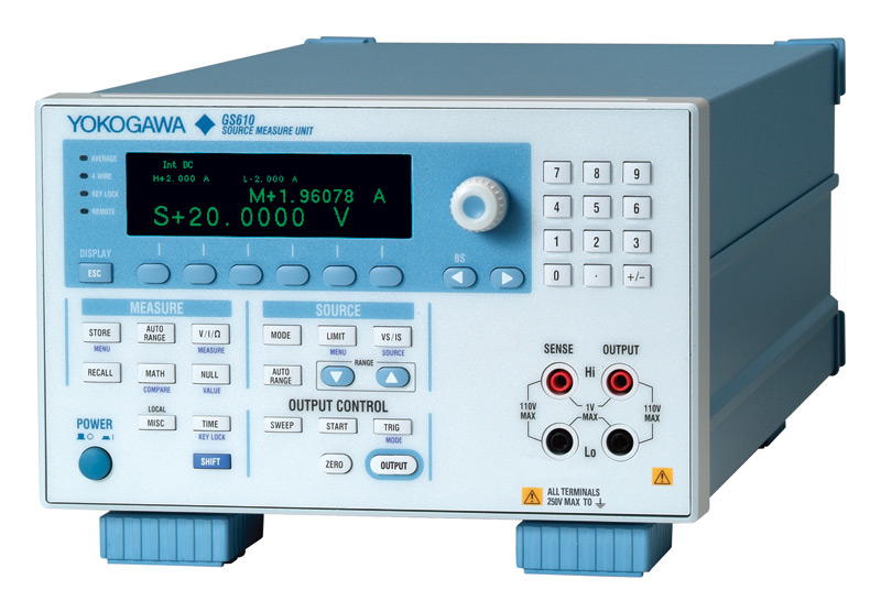 I-V CHARACTERIZATION, YOKOGAWA, KEITHLEY, KEYSIGHT, SMU,